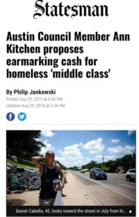News article about homelessness from the ...